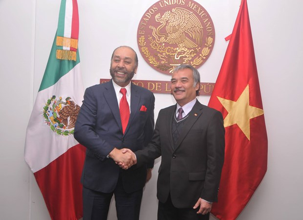 Mexico otorga importancia a relacion con Vietnam hinh anh 1