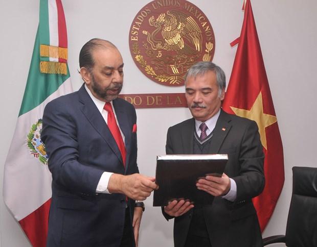 Mexico otorga importancia a relacion con Vietnam hinh anh 2