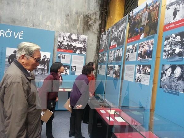 Efectuan en Hanoi exposicion sobre victoria de Dien Bien Phu aereo hinh anh 1