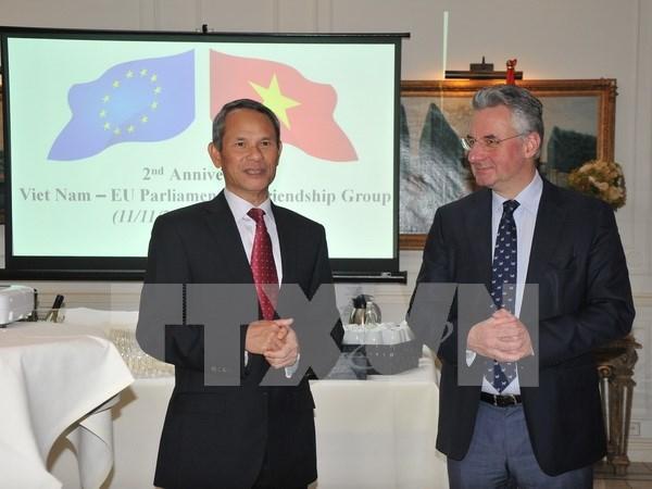 Destacan papel del grupo parlamentario de Amistad Vietnam- Union Europea hinh anh 1
