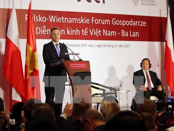 Empresas de Vietnam y Polonia impulsan cooperacion hinh anh 1