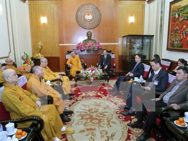Saludan contribuciones de Sangha Budista de Vietnam en desarrollo nacional hinh anh 1