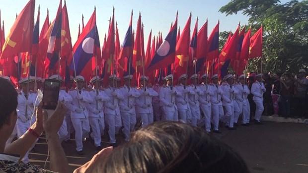 Laos celebra actividad por el 42 aniversario del Dia Nacional hinh anh 1