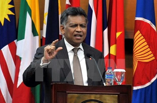 Exsecretario general de ASEAN muere de ataque al corazon hinh anh 1