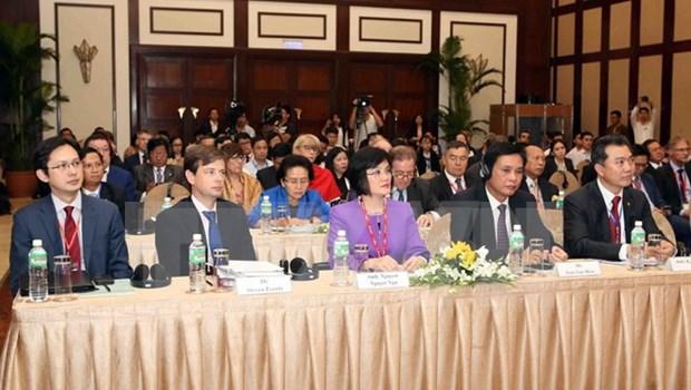 Vietnam acoge reunion de gobernadores de la ASEF hinh anh 1