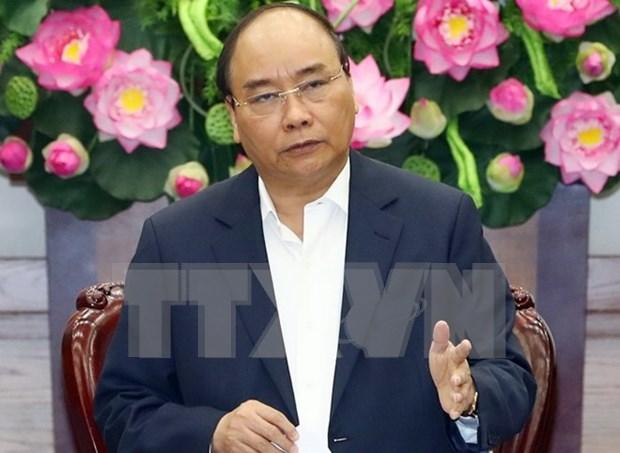 Premier de Vietnam solicita preparacion activa para tareas socio-economicas clave en 2018 hinh anh 1