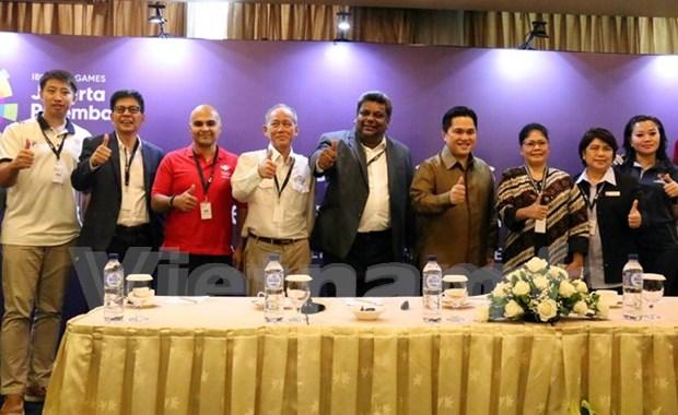 Indonesia acelera los preparativos para ASIAD 18 hinh anh 1