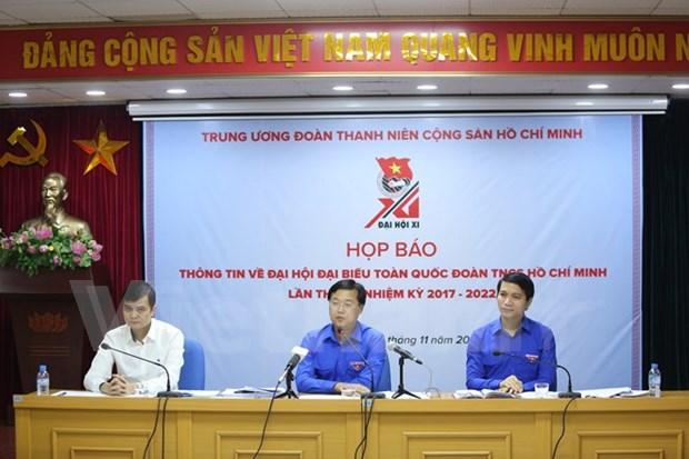 Union de Jovenes Comunistas Ho Chi Minh celebrara XI Congreso en Hanoi hinh anh 1
