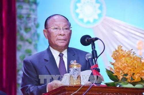 Camboya celebra aniversario del frente solidario hinh anh 1