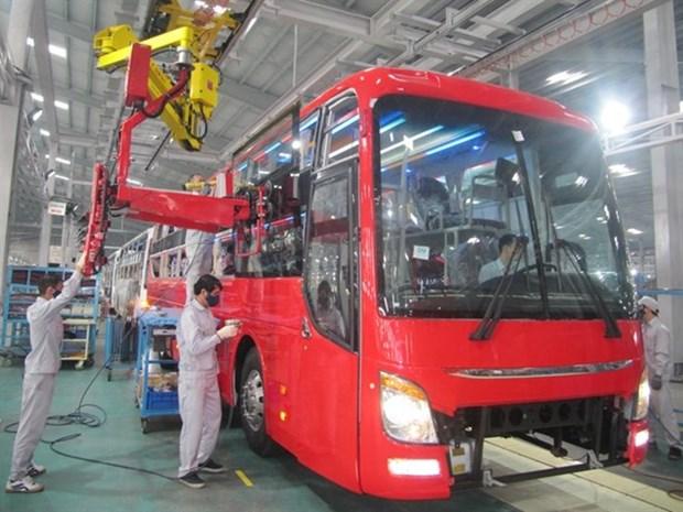 Thaco distribuira camiones y buses Fuso en Vietnam hinh anh 1
