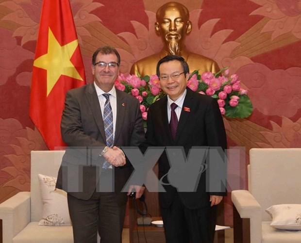 Vietnam y Canada robustecen lazos legislativos hinh anh 1
