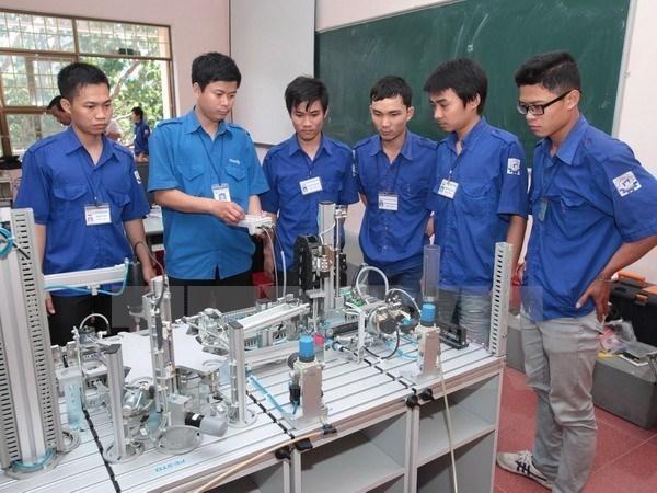 Hanoi renueva formacion profesional para satisfacer demanda del mercado hinh anh 1