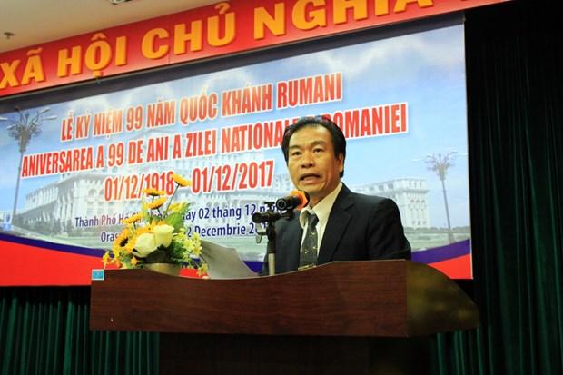 Conmemoran en Vietnam Dia nacional de Rumania hinh anh 1