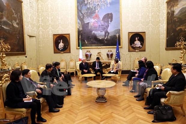 Vietnam e Italia fomentan relaciones legislativas hinh anh 1