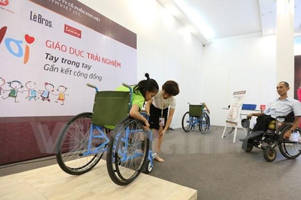 Vietnam reitera compromisos con personas con discapacidad hinh anh 1