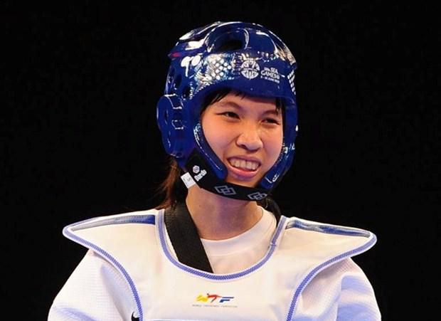 Taekwondista vietnamita gana bronce en Grand Prix 2017 hinh anh 1