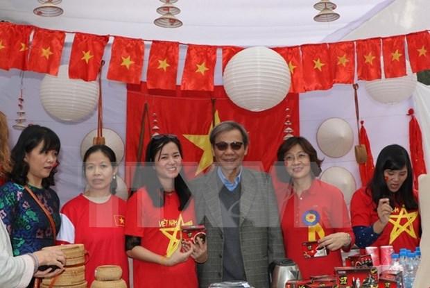 Impresionante imagen de Vietnam en Feria Bazaar en la India hinh anh 1