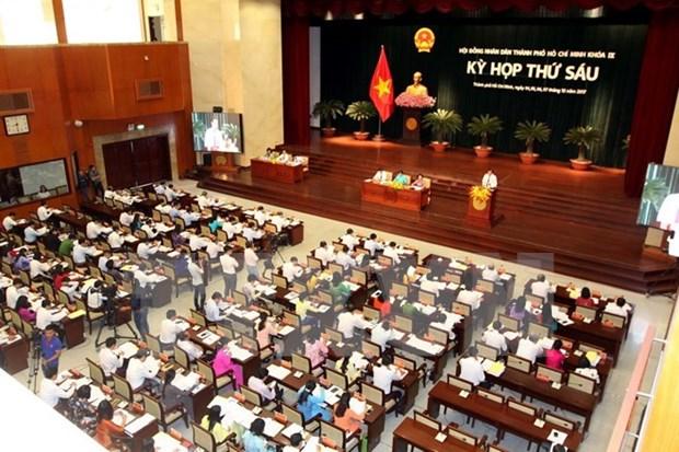 Inauguran sexta reunion del Consejo Popular de Ciudad Ho Chi Minh hinh anh 1