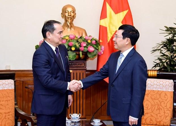 Destacan lazos comerciales Vietnam- Kazajstan hinh anh 1