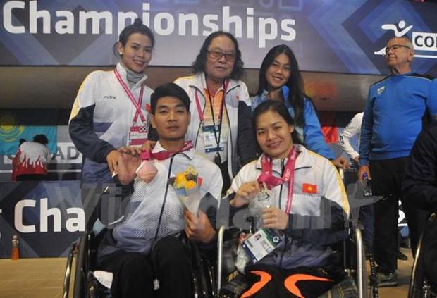 Vietnam gana otras medallas en campeonato mundial de para-natacion en Mexico hinh anh 1