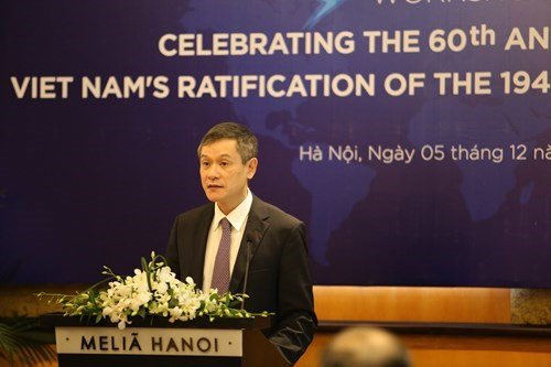 Destacan integracion de Vietnam a los Convenios de Ginebra hinh anh 1