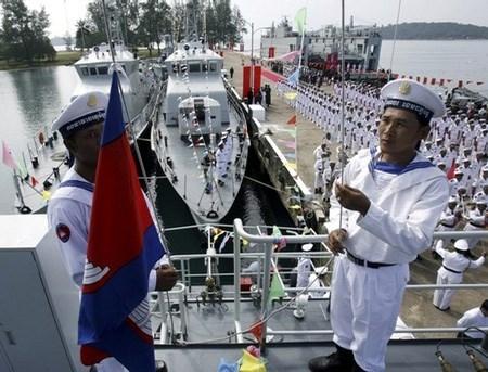 Vietnam y Camboya evaluan labores de patrullaje conjunto hinh anh 1
