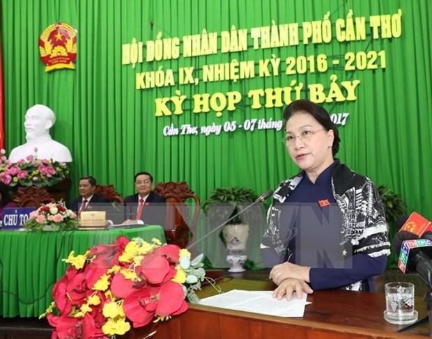 Consejo Popular de ciudad vietnamita de Can Tho inicia septima reunion hinh anh 1