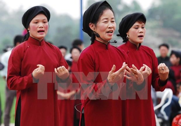 Consideran incluir dos candidatos vietnamitas en lista de patrimonio cultural inmaterial de UNESCO hinh anh 1