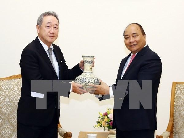 Premier vietnamita recibe a presidente del grupo sudcoreano Maekyung hinh anh 1