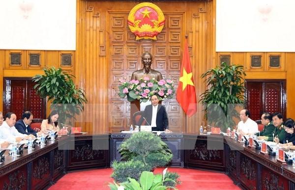 Premier vietnamita revisa directrices para futuro desarrollo de provincia de An Giang hinh anh 1