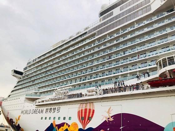 Gran crucero trae mayor numero de pasajeros a destinos atractivos en Vietnam hinh anh 1