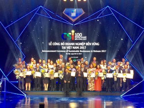 Publican lista de las 100 mejores firmas sostenibles de Vietnam hinh anh 1