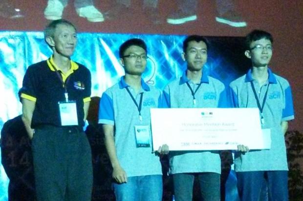Nutrida participacion en Concurso de programacion de Asia hinh anh 1