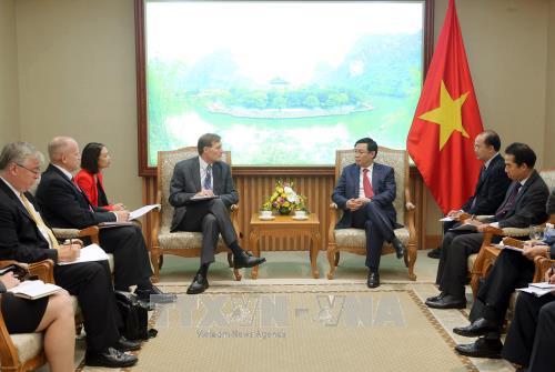 Respalda USAID a la participacion de empresas vietnamitas en cadenas de suministro globales hinh anh 1