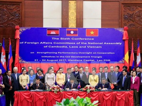 Efectuara en Vietnam reunion del comite coordinador del Triangulo de Desarrollo CLV hinh anh 1