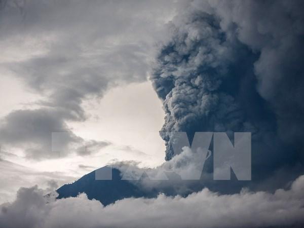 Turismo de Indonesia sufre gran perdida por actividades volcanicas en Bali hinh anh 1