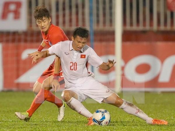 Vietnam jugara en torneo amistoso de futbol en Tailandia hinh anh 1