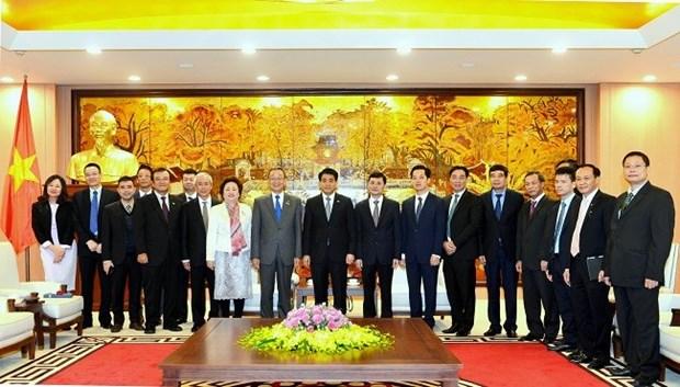 Hanoi construira una ciudad inteligente hinh anh 1