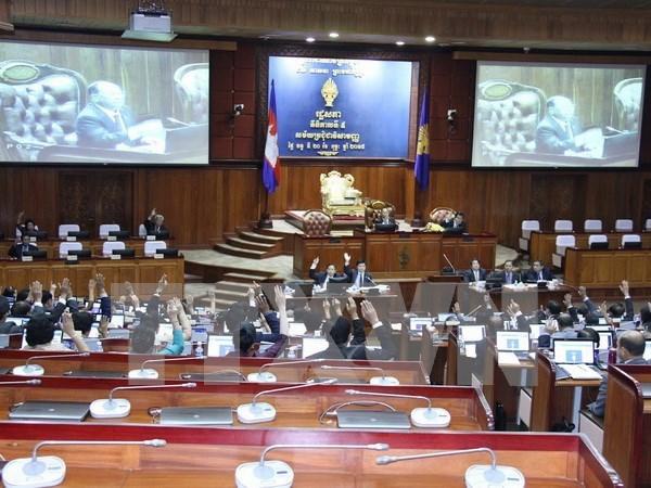 Asamblea Nacional de Camboya aprueba nuevos miembros hinh anh 1