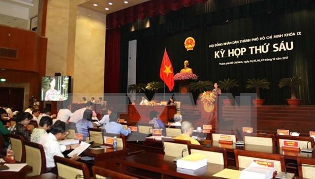 Concluye sexta reunion del Consejo Popular de Ciudad Ho Chi Minh hinh anh 1