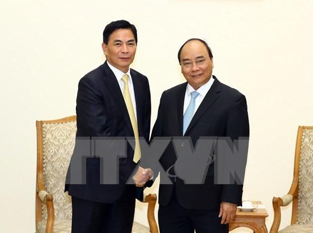 Vietnam favorece inversiones hongkonesas, afirma premier hinh anh 1