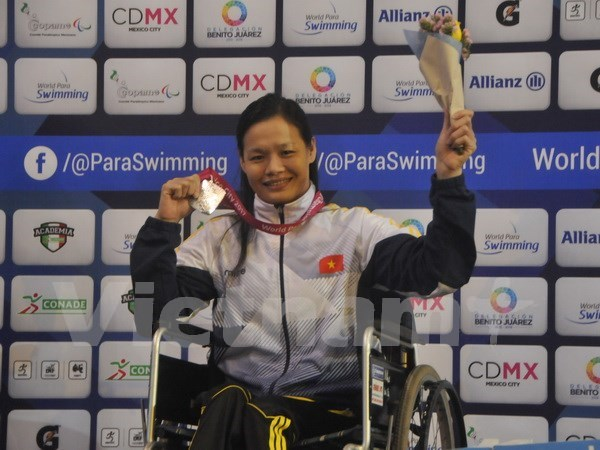 Vietnam acumula seis medallas en Campeonato Mundial de Para- Natacion hinh anh 1