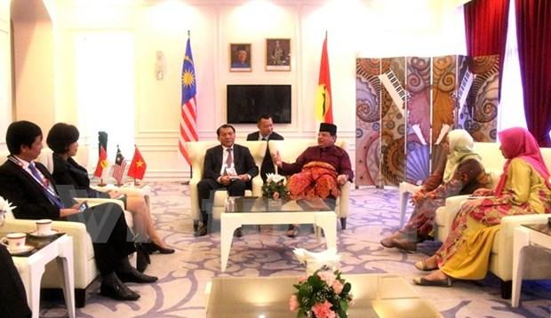 Delegacion de PCV participa en congreso del partido gobernante de Malasia hinh anh 1