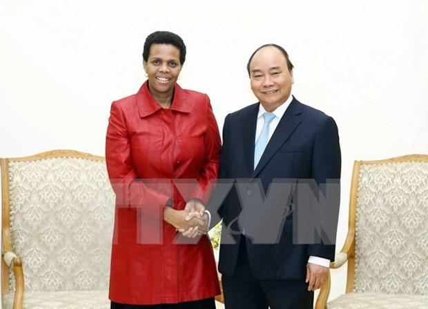 Premier vietnamita aboga por intensificar vinculos multifaceticos con Sudafrica hinh anh 1