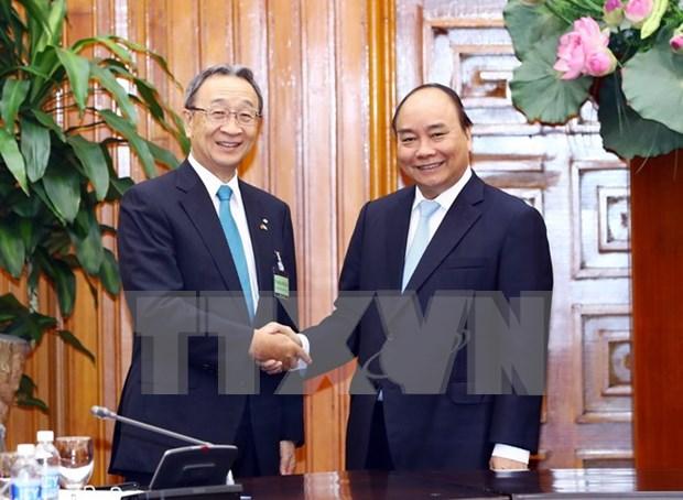 Vietnam y Japon robustecen cooperacion economica hinh anh 1