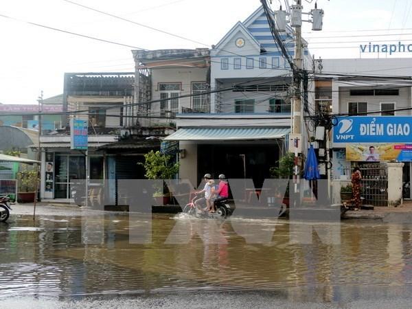 Reporteros vietnamitas mejoran habilidades profesionales en condiciones desfavorables hinh anh 1