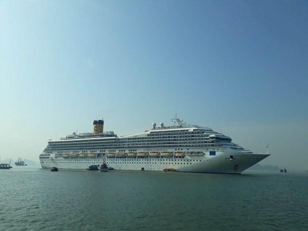 Inauguran nueva ruta de cruceros entre localidades vietnamita de Quang Ninh y china de Fujian hinh anh 1