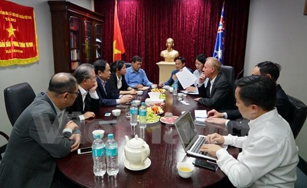 Vietnam y Australia buscan mejorar comercio de productos acuaticos hinh anh 1