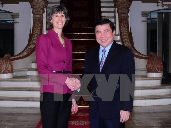 Fortalecen cooperacion entre Ciudad Ho Chi Minh y Banco Mundial hinh anh 1