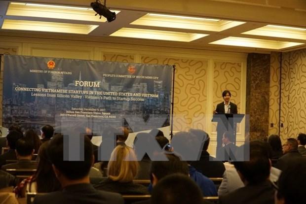 Impulsan cooperacion entre emprendedores vietnamitas en el pais y en Estados Unidos hinh anh 1